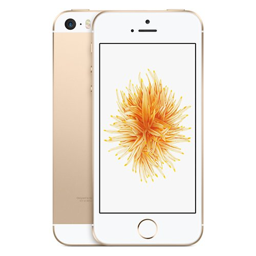 Apple iPhone SE 32GB Gold LTE Cellular Simple Mobile MQ4Y2LL/A