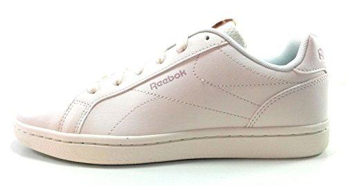 Reebok Royal Complete Cln, Chaussures de Fitness Femme, Noir Multicolore - blanc/pêche/rose (Chalk / Peach / Shell Pink)