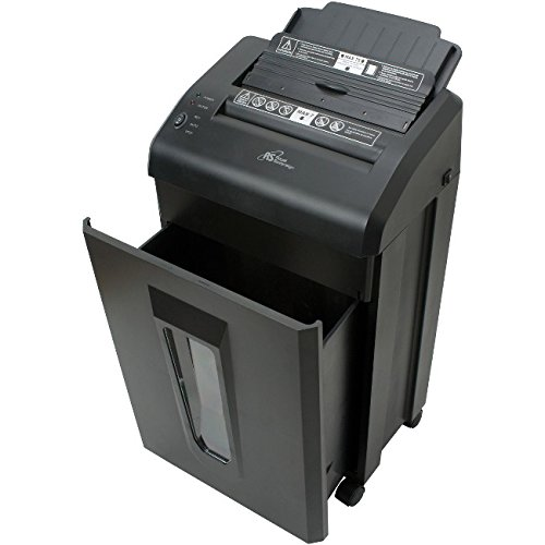 Royal Sovereign AFX-975 Auto Feed Shredder for Home and Office Level 4 Micro-Cut Security 75 Sheet Capacity Auto Start/Stop Black by Royal Sovereign