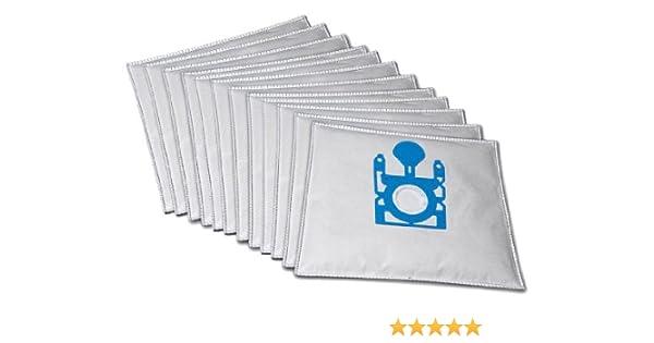 10 bolsas para aspiradora premio compatible con Bosch BSD 2822 PRO ...