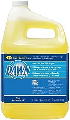 Dishwashing Detergent, 1 Gal, Lemon, Pk4: Dish Detergent ...