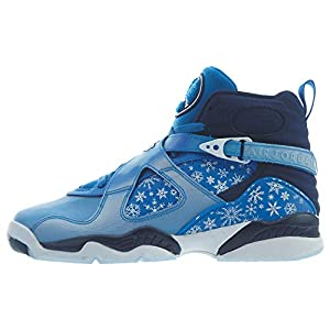 Best Epic Trends 411VsuKY1pL._SS300_ Jordan Nike 8 Retro Snow Blizzard (GS) Boys/Girls