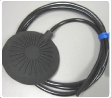 B350BA-10 Pneumatic Foot Pedal, Low Profile, Black, 1/4'' Hole Diameter, w/ 10 Feet Tubing by Presair (Image #2)