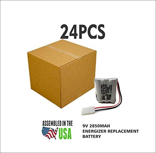 24pc Kaba Ilco Unican 502238 DL-16 Replacement Battery for ...