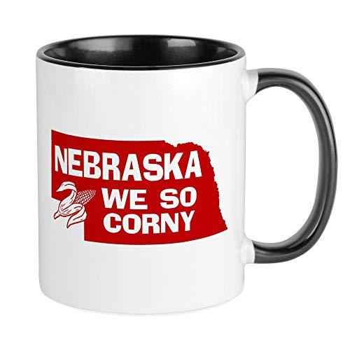 CafePress Nebraska Mug Unique Coffee Mug, Coffee Cup