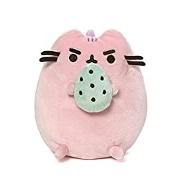 Pusheen Dinosaur Plush | Pusheenosaurus With Egg - Pink -  6 Inch | Pusheen Plushies 12
