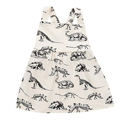 Baby Dresses Yamally Baby Girls Clothes Cotton Dinosaur