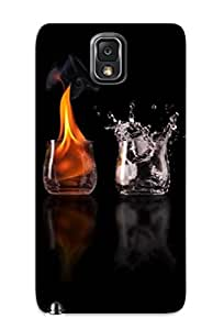 New Style Eatcooment 4 Elements Premium Tpu Cover Case For Galaxy Note 3