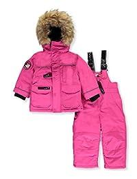 "Canada Weather Gear Baby Girls' ""Wintry Trek"" 2-Piece Snowsuit"