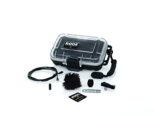 Cool Little Camera Case (Rode LAVALIER Condenser Microphone, Omni)