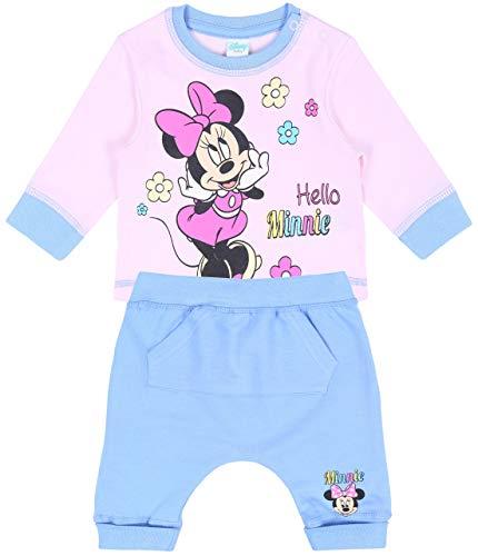 Conjunto de bebé Azul-Rosa Minnie Disney: Amazon.es: Ropa y accesorios