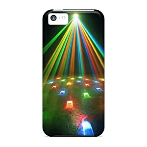 Colored Lights Case Compatible With Iphone 5c/ Hot Protection Case