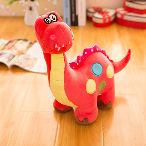 Red 80cm Plush Dinosaur Toy Stuffed Animal Pillows Cuddly Animal Dolls Sleeping Comfort Cushion Kawaii Presents (color   bluee, Size   100CM)
