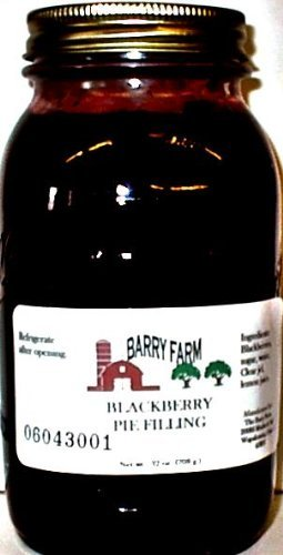 Black Raspberry Pie Filling, Sugar Free, 32 fl. Oz.