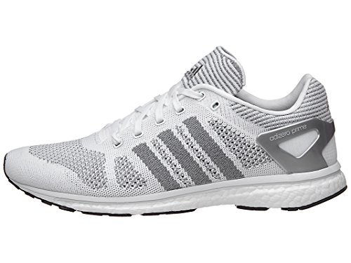 Adidas Adizero Prime Ltd White/Silver Running Shoes 8.5