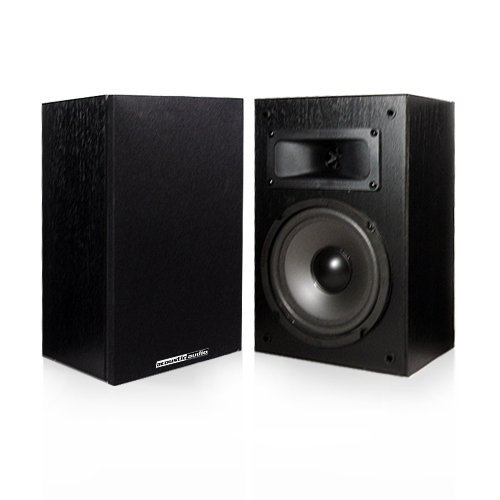 Acoustic Audio PSS-52 Bookshelf Speakers (Black)