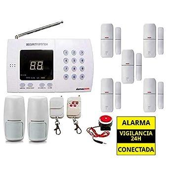 Alarma Hogar AZ011 linea telefono fija Oferta Sistema ...