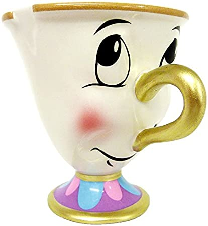 Taza Disney de Chip de la Bella y la Bestia: Amazon.es: Hogar