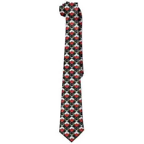 (gahjdfxiaoning Men's Funny Pink Floyd Neckties Ties Skinny Tie)