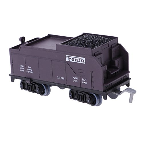 Coal Train Model w/ Movable Wheels for Kids Toddlers Toy Gift ()