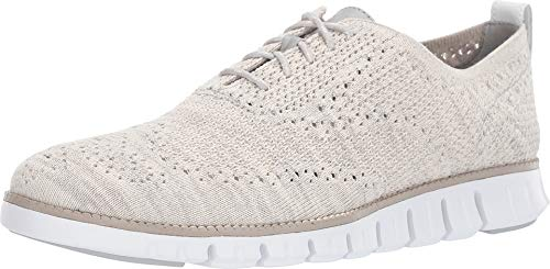 Cole Haan Men's Zerogrand Stitchlite Oxford Harbor Mist/Nimbus Cloud/Bright White 10 D US ()