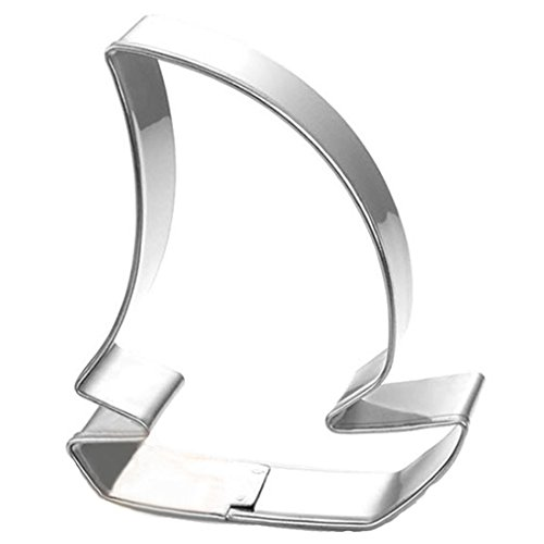 - WJSYSHOP Pirate Ship Boat Cookie Cutter Stainless Steel