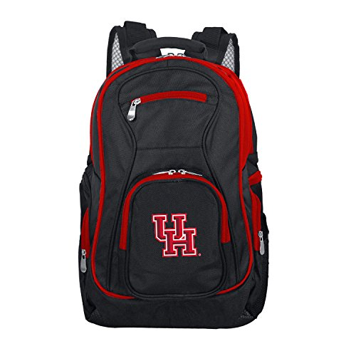 NCAA Houston Cougars Colored Trim Premium Laptop Backpack