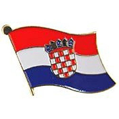 AES Croatia Country Flag Bike Hat Cap Lapel ()