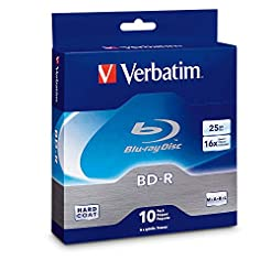 Verbatim BD-R 25GB 16X Blu-ray Recordabl...