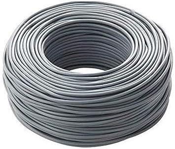 C/âble Icel /électrique bobine 200 m/ètres unipolaire isolant FS17 installations maison entreprises b/âtiments 1 x 1 mm