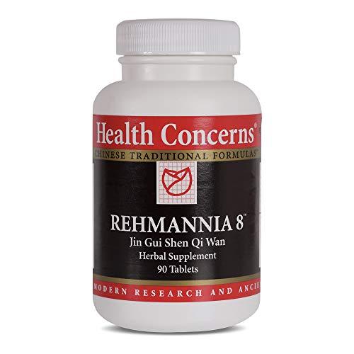 Health Concerns - Rehmannia 8 - Jin Gui Shen Qi Wan Herbal Supplement - 90 Tablets ()