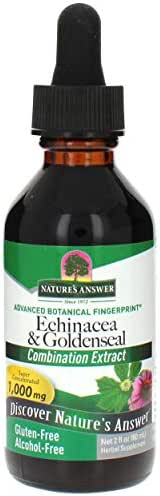 Nature's Answer Alcohol-Free Echinacea and Goldenseal, 2-Fluid Ounces
