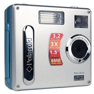 Amazon.com : Polaroid PDC-3070 3.2 Megapixel Digital Camera : Film ...