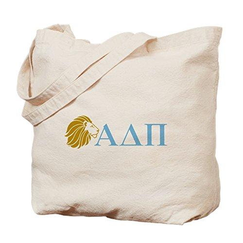CafePress–Alpha Delta Pi León letras–Gamuza de bolsa de lona bolsa, bolsa de la compra