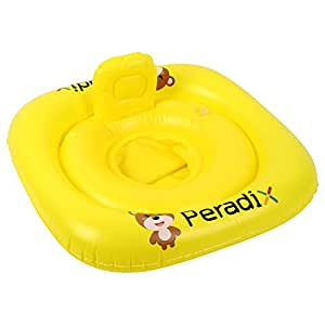 Baby Float Water Toys Inflatable Swimming Pool Ring Floating Boat with Comfortable Backrest and Seat for Toddlers by Peradix
