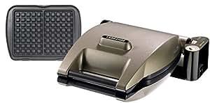 Lagrange 019122 Premium Gaufres - Gofrera, color taupe metálico