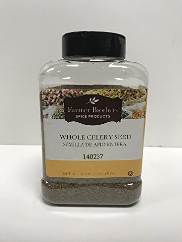 Whole Celery Seed by Farmer Brothers (1 bottle/1 lb) by Farmer Brothers
