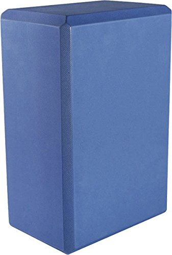 Yoga 4'' Foam Block (40-Pack), 4'' x 6'' x 9'', Sky Blue