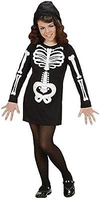 WIDMANN 74617 - Disfraz de esqueleto para niño (talla 140): Amazon ...