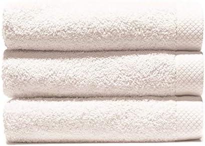 Lasa Juego Toallas, algodón 100%, Blanco, Ducha (70 x 140 cm ...