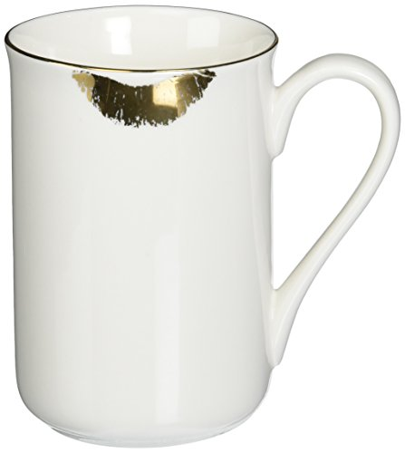- Abbott Collection China Gold Lipstick Mug