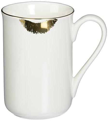 Abbott Collection China Gold Lipstick Mug