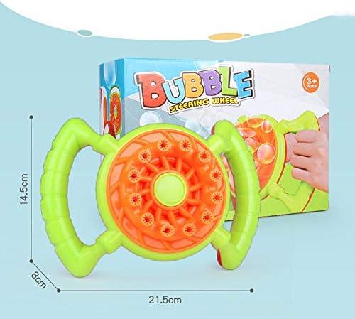 Fallve バブルマシン シャボン玉製造機 電動 シャボン玉 電動式シャボン おもちゃ お風呂 入浴 子供のおもちゃ 水遊び キャンプで遊ぼう! 外遊び プール