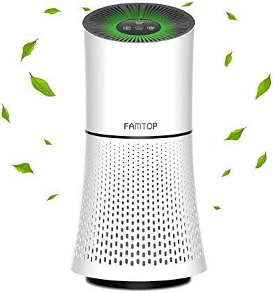 Famtop purificadores de aire, 4 en 1 True HEPA Limpiador de aire ...
