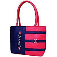 SPLICE Women Tote Bags Women's Quality Hot Selling Trendy Shoulder Handbags (Pink)