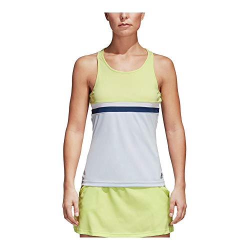 adidas Women's Tennis Club Tank Top, Semi Frozen Yellow, XX-Small by adidas (Image #3)
