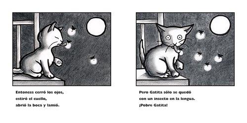 La primera luna llena de Gatita: Kitten's First Full Moon (Spanish edition)