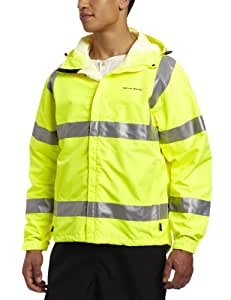 Grunden's Men's Gage Weather Watch Ansi Certified Jacket, Hi Vis Yellow, X-Small