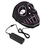 Culturemart LED Glowing Luminous Mask Decoration Toy for Party Hallowen Carnival Festival
