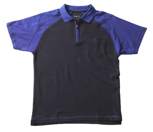 Mascot 50302-260-111 Poloshirt Bianco Größe M marine kornblau